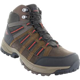 Hi-Tec Garcia Sport WP Shoes Men Dark Chocolate/Brown/Picante